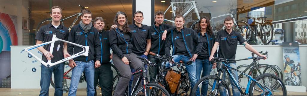 Das Team von Christine und Marcus Kesper (Sport Fahrrad Hübel)