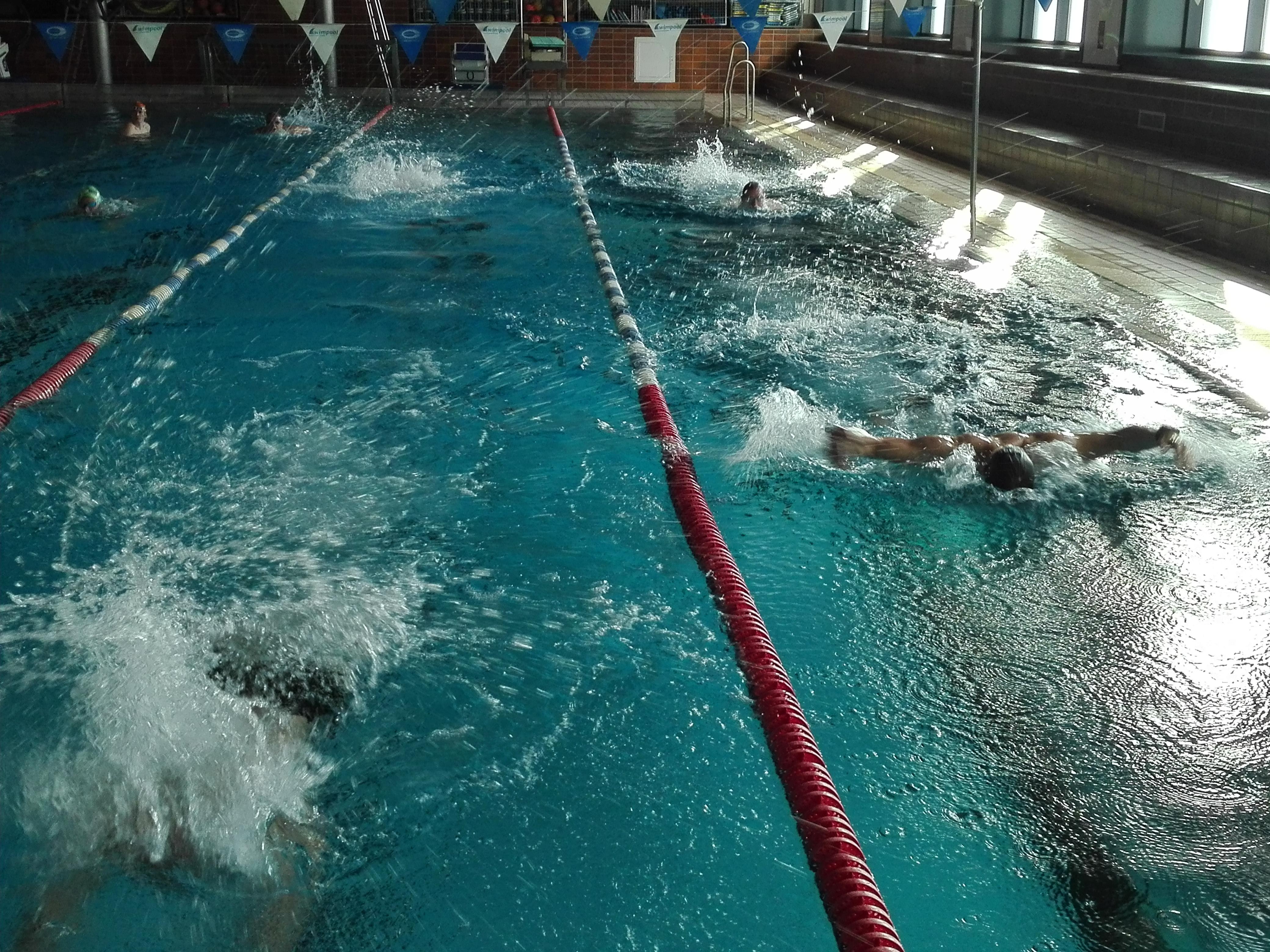 trocken schwimmen übung